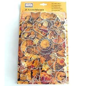 Kekse backen? 25 Ausstechformen von Kaiser für nur 7 €!