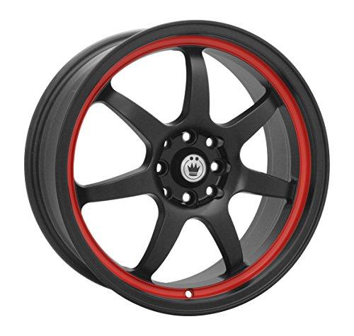 Konig Forward Black Red Stripe Wheel (17×7″/5x100mm)