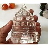 Clear Crystal Quartz Shree Yantra - 7.6 CM