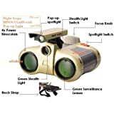 Night Scope Binocular With Pop-Up Light For Kids Camping Outdoor