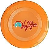 YFF Frisbee Orange, One Size : YFF Jenny Lewis The Voyager Logo 150 Gram Ultimate Sport Disc Frisbee Yellow