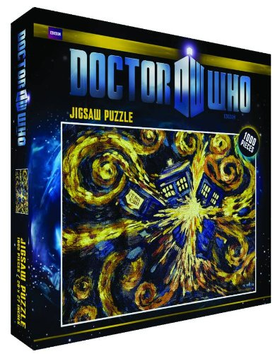 Doctor Who Exploding Tardis 1000 Piece