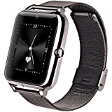 Lemfo LF11 Bluetooth Smart Watch Cell Phone GSM Pedometer Fitness Tracker 430mAh Silver Black