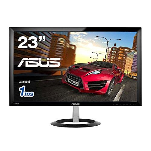 【Amazon.co.jp限定 】 ASUS Gamingモニター 23型フルHDディスプレイ ( 応答速度1ms / HDMI×2,D-sub×1 / スピーカー内臓 / 3年保証 )VX238H-P