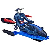 Avengers Titan Hero Series Iron Patriot Figure With Arc Thruster Jet Vehicle, Multi Color