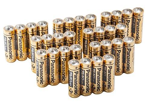 パナソニック 単3形アルカリ乾電池 32本パック【フラストレーションフリーパッケージ(FFP)モデル】LR6RJA/32S