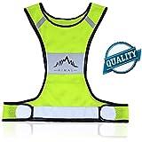 Reflective Vest,Himal Reflective Running Vest Reflective Running Gear For Running,Cycling,Jogging,Biking,Walking...