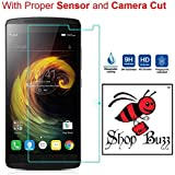 Shop Buzz Combo Of Back Cover (Black) And Tempered Glass For K 4 Note (Pitch Black Back Cover And Tempered Glass...