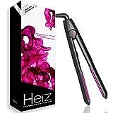 [+2 Free Gifts] Heiz Professional Ceramic Flat Iron Hair Straightening Iron Versatile Function Hair Straightener...