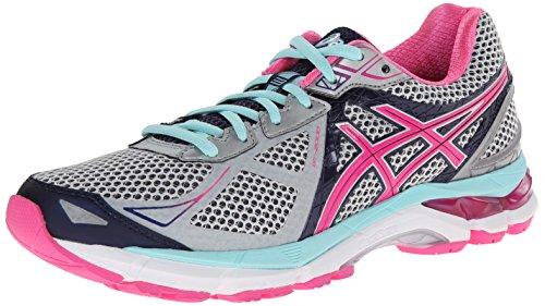 ASICS Women's GT-2000 3 Trail Running Shoe Lightning/Hot Pink/Navy 7 B - Medium