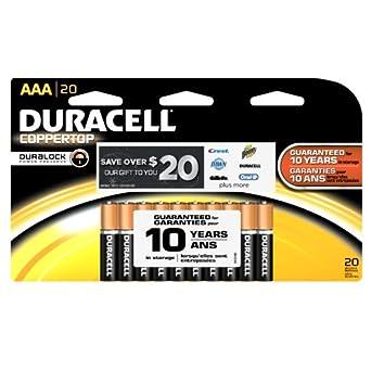 Amazon.com: Duracell MN2400B20Z CopperTop Alkaline