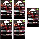 Tuscan 5 Packs Of 10 Pieces 1600mah AA 1.2V, Rechargeable Ni-Mh Batteries 1600 MAh AA Size