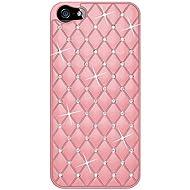 Amzer Diamond Lattice Snap On Shell Case For IPhone 5 (Light Pink )