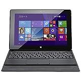 マウスコンピュータ Windowsタブレット[LTE対応・Office付き・10.1型・ストレージ 64GB eMMC・キーボード付] WN1037LTE