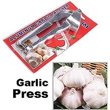 Alcoa Prime Hot Sale Kitchen Tool Aluminum Garlic Ginger Press Crusher E V1NF Shipping
