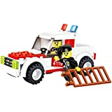 Speed Car 89 Pcs Building Blocks Set Police Rescue Full Time 4 X4 Truck With Emergency Light Bar And Ladder Used...