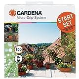 Gardena 1401-20 Startset Terrassen-Micro-Drip-System