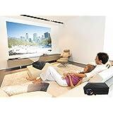 Xinda XD601 Full HD Multimedia LED 1000 Lumens LCD Portable Projector HDMI AV VGA Port USB LED Projector Cinema...