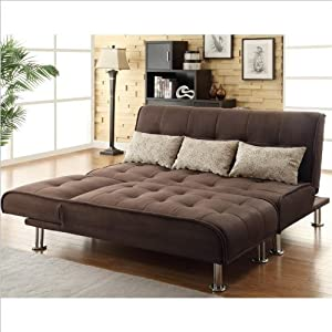 $ Sale Coaster Transitional Styled Sectional Sofa Sleeper in Brown Reviews SG 25Z