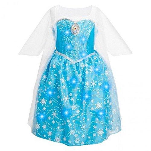 Disney Frozen Elsa Musical Light-Up Dress Size 7/8