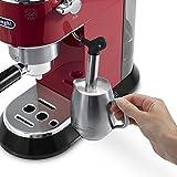 DeLonghi EC 680.R Dedica Espressomaschine (1450 Watt, 15 bar) rot -