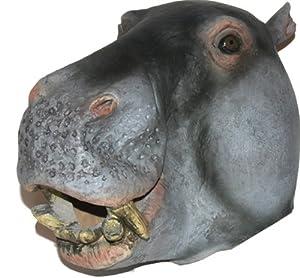 Amazon.com: Hippo Mask : Deluxe Latex Animal Mask: Toys