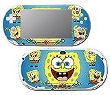 Spongebob Squarepants Sponge Bob Patrick Cartoon Squidward Video Game Vinyl Decal Skin Sticker Cover for Sony Playstation Vita Slim 2000 Series System