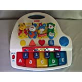 Fisher Price Learning Piano Alphabet Numbers Shapes