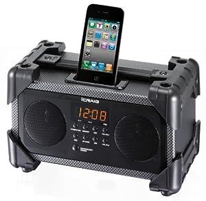 Amazon.com: Craig Dual Alarm Industrial iPod/iPhone