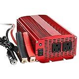 BESTEK® インバーター 1000W カー パワー チャージャー DC 12V to AC 100V 50Hz/60Hz 高出力 ハイパワー 定格:1000W 最大:1200W MRI10010