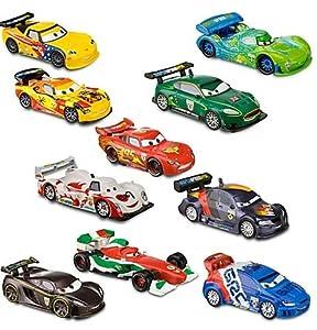 Disney / Pixar CARS 2 Movie Exclusive PVC 10Pack Deluxe