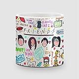 Amey Friends Collage Coffee Mug - 325 Ml
