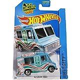 Mattel Hot Wheels 2014 Hw City 9/250 Hw City Works Ice Cream Truck (Blue)