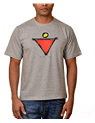 Nirvana Divine- Mens Grey Colour Round Neck Tshirts