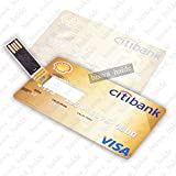 32GB Printed Bank ATM Card Shape Pen Drive USB Memory External Storage Pen Drive For Laptop Computer Etc - 03