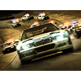Need For Speed - NFS Most Wanted Game Poster - 12x19 Inch Art Material