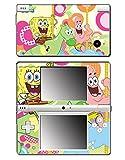 Spongebob Squarepants Sponge Bob Patrick Gummy Bear Toy Cartoon Video Game Vinyl Decal Skin Sticker Cover for Nintendo DSi System
