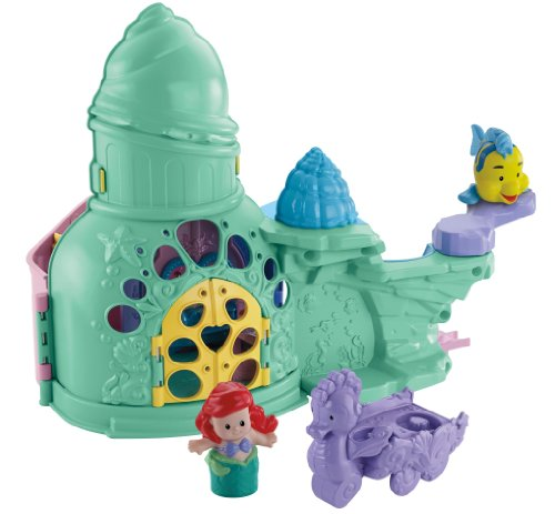 Fisher-Price Little People Disney Princess Ariel And Sebastian Playset