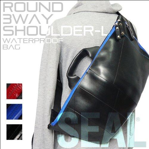 【SEAL%2Fシール】WATERPROOF+ボディバッグ+Lサイズ+OLCI+コラボモデル レッド