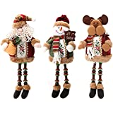 Generic 03, 03 : Special Santa Claus Snow Man Reindeer Doll Christmas Decoration Christmas Tree Hanging Ornaments...