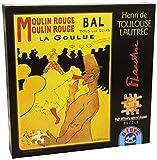 515 Piece Moulin Rouge La Goulue Jigsaw Puzzle By Lautrec