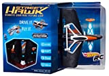Hot Wheels Street Hawk Remote Control Flying Car, Orange/Blue