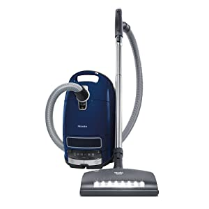 The New Miele Complete C3 Marin Canister Vacuum Review