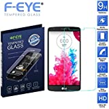F-EYE® LG G3 Tempered Glass, Ultra Clear Screen Protector, 0.33mm Thickness , 2.5D Round Edge, 9H Hardness Mobile...