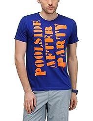 Yepme Men's Graphic Cotton T-shirt - B00O32GPK0