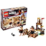 "Lego Disney Movie Series ""Prince Of Persia The Sands Of Time"" Scene Set # 7570 The Ostrich Race With Movable Gates..."