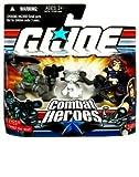 GI Joe Combat Heroes Snake Eyes & Timber the Wolf & Zartan Figure Set
