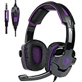 2016 New Updated Sades SA920 Wired Stereo Gaming Headset Over Ear Headphones With Microphone For Xbox One Xbox... - B01E8RRAR6