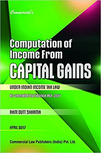 Computation of Income From CAPITAL GAINS Under Indian Income Tax Law