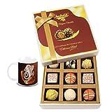 Chocholik Belgium Chocolates - 9pc Admiring Choco Treat With Diwali Special Coffee Mug - Gifts For Diwali
